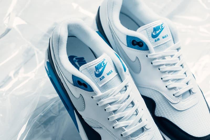 Nike Air Max 90/1 Laser Blue release info sneakers Natural Grey black white air max 1 air max 90