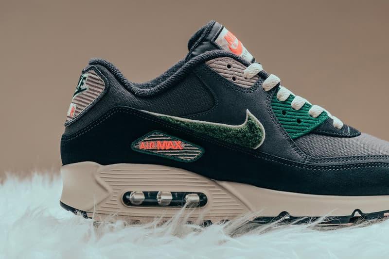 nike air max 95 nike air max 90 premium oil grey rainforest 2018 september footwear nike sportswear