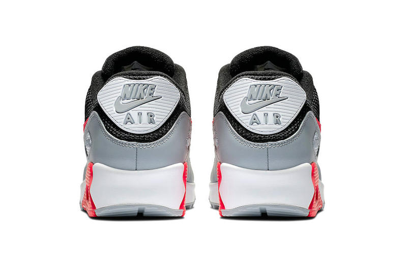 """Nike Air Max 90 """"Infrared"""" Remix Release Date price sneaker white grey black"""