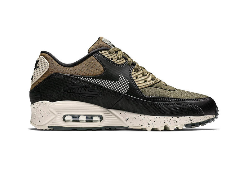 "Nike Air Max 90 Premium ""Olive/Black"" Release Info sneaker colorway date price purchase"