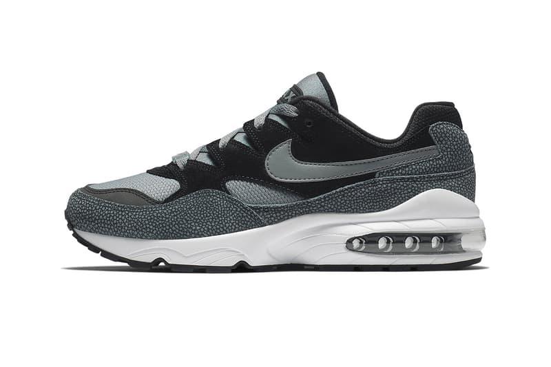 nike air max 94 grey black animal safari print fall 2018 sneaker release