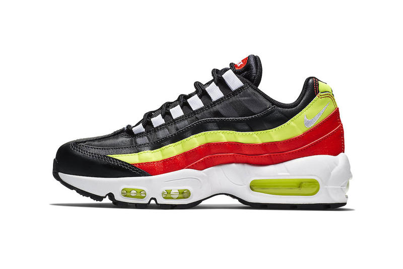 37c4d0d6c8 Nike Air Max 95 Black Red Neon Green fall 2018 release sneakers