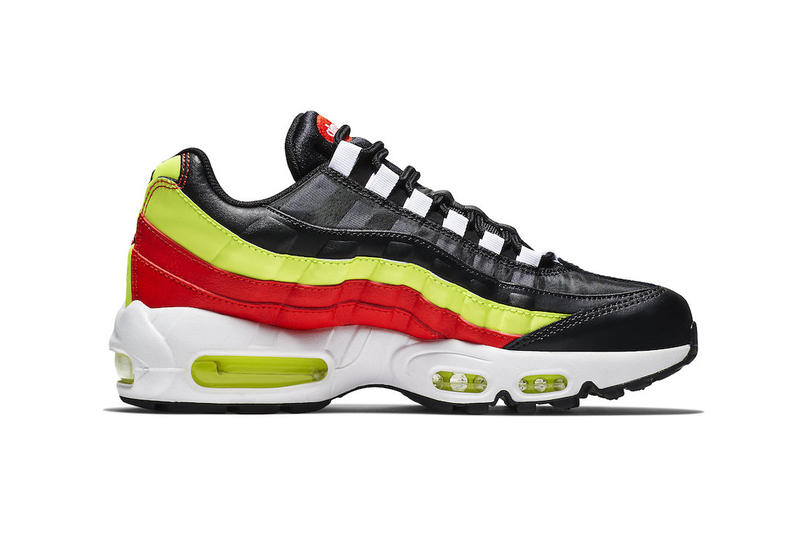 competitive price b531b c6980 Nike Air Max 95 Black Red Neon Green fall 2018 release sneakers