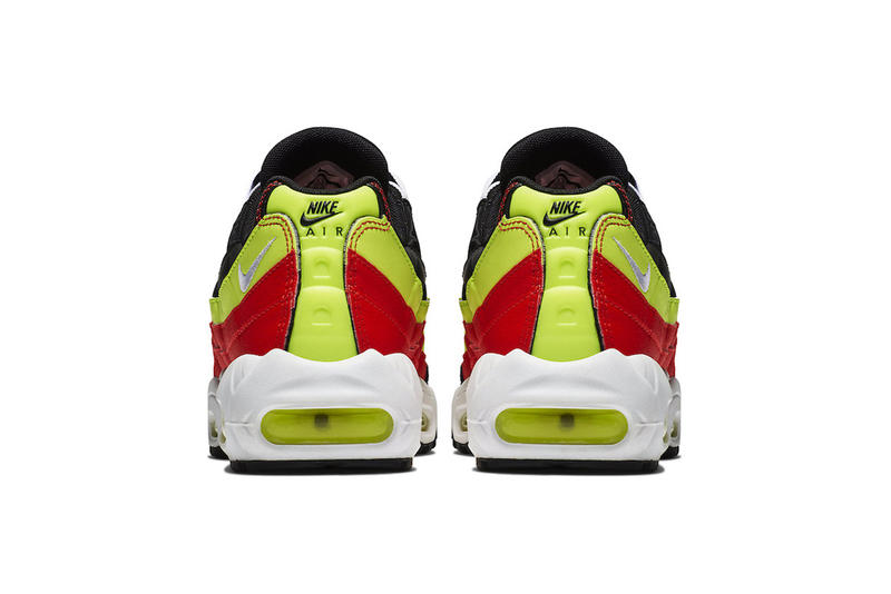 Nike Air Max 95 Black Red Neon Green fall 2018 release sneakers