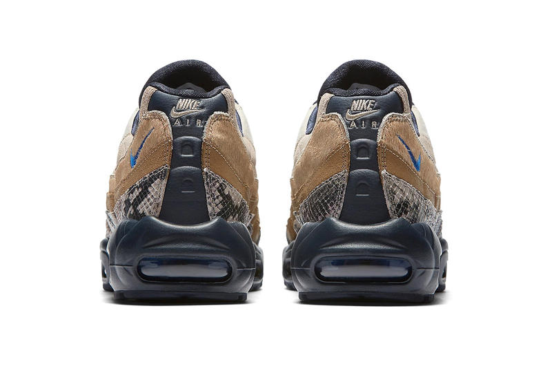 nike air max snakeskin release date price sneaker september 2018 brown black suede ponyhair