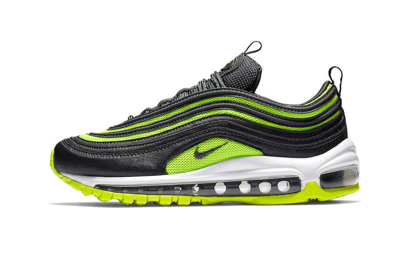 new concept 927f3 c153a Nike Air Max 97 Black Neon Green fall 2018 release sneakers