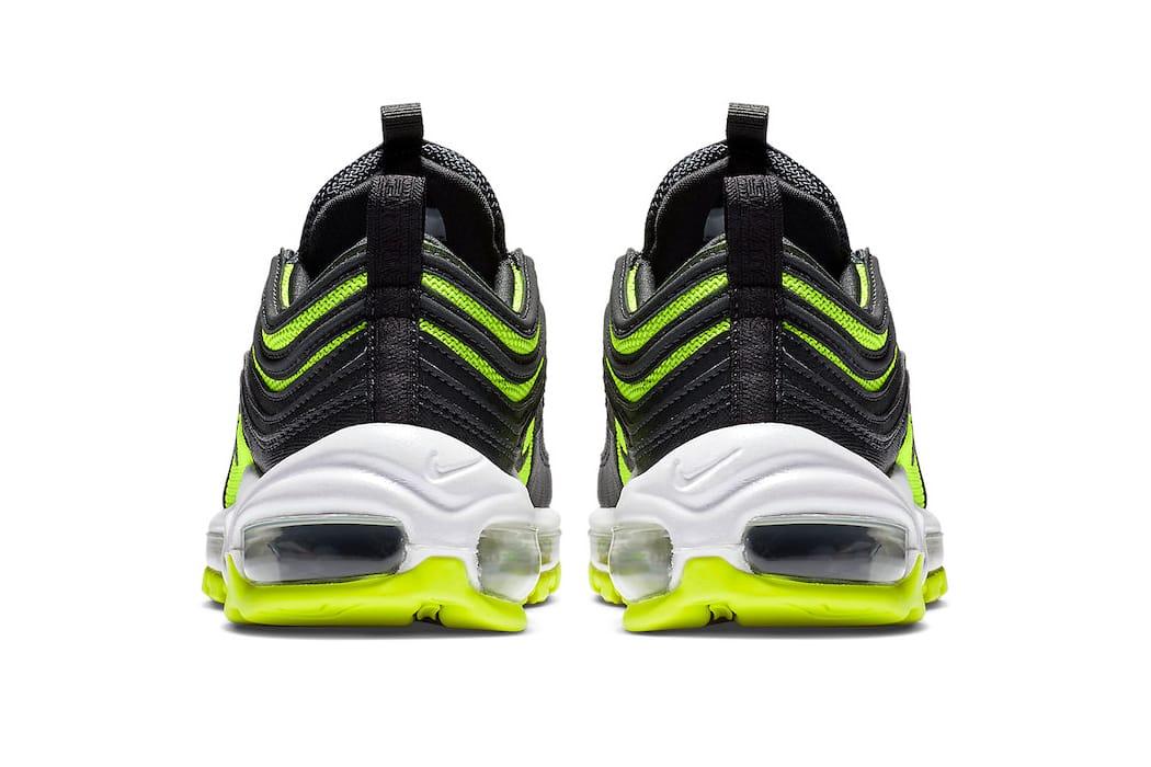 air max 97 black lime green