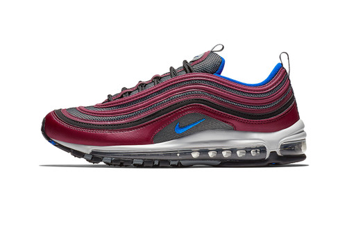 Nike's Air Max 97 Steps out in Maroon and Blue