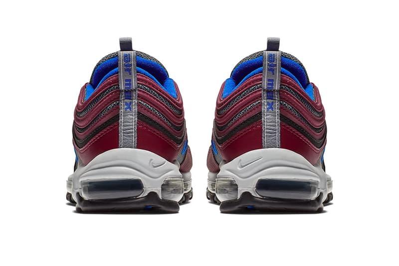 "Nike Air Max 97 ""Maroon/Blue"" Release sneaker colorway date purchase online price"