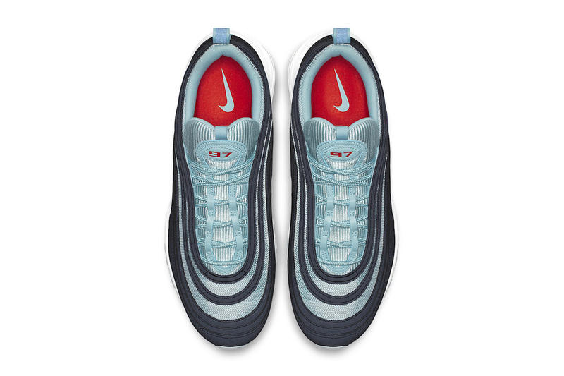 Nike Air Max 97 Ocean Bliss Release Date sneaker turquoise red black
