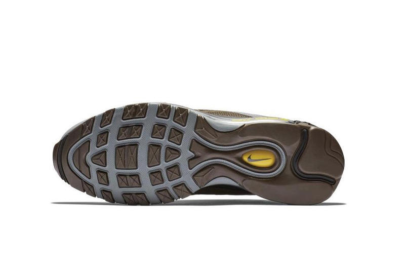 Nike Air Max 97 Premium Baroque Brown Grey Info Release Date Yellow