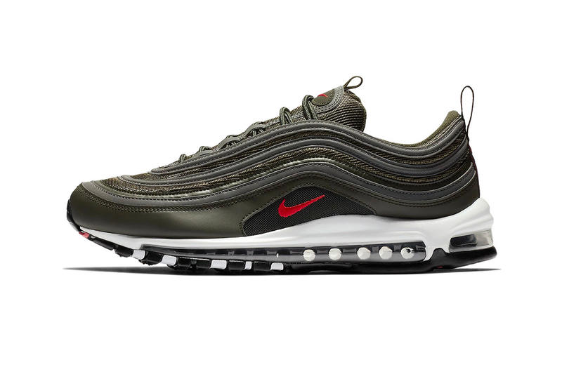 Nike Air Max 97 Sequoia october fall 2018 release sneakers university red