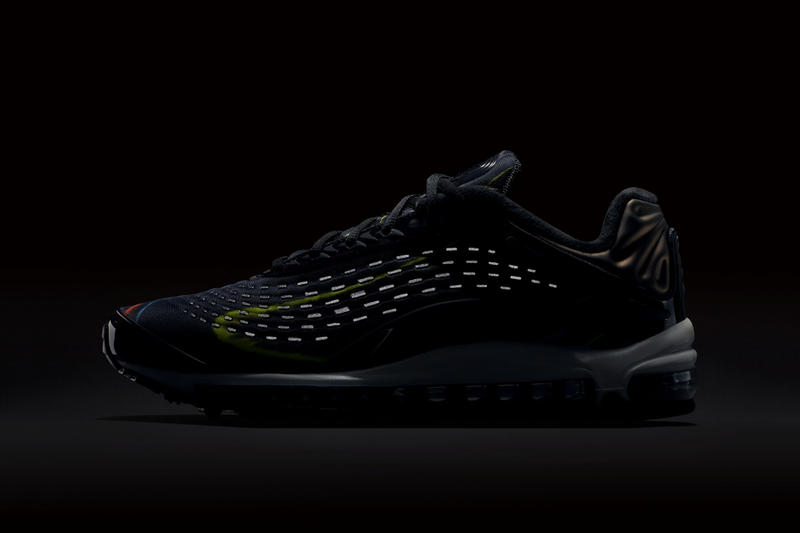 "Nike Air Max Deluxe ""Black/Midnight Navy/Silver"" release date first look sneaker mens womens colorway price purchase retro trainer multicolor"
