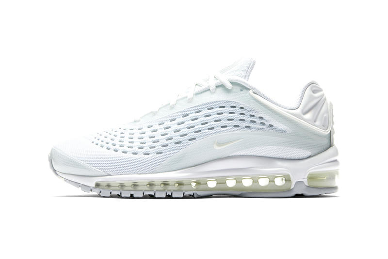 Nike Air Max Deluxe Skepta White Triple Sail Pure Platinum Release  Information First Look Buy Cop b4e66ac07