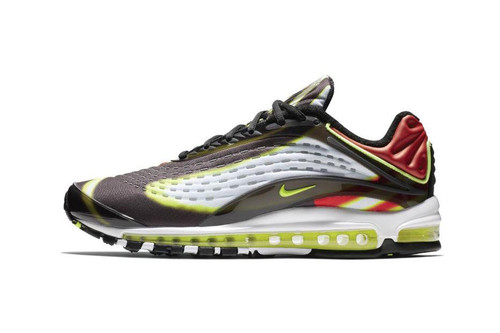 "Nike Air Max Deluxe ""Volt/Habanero Red"""