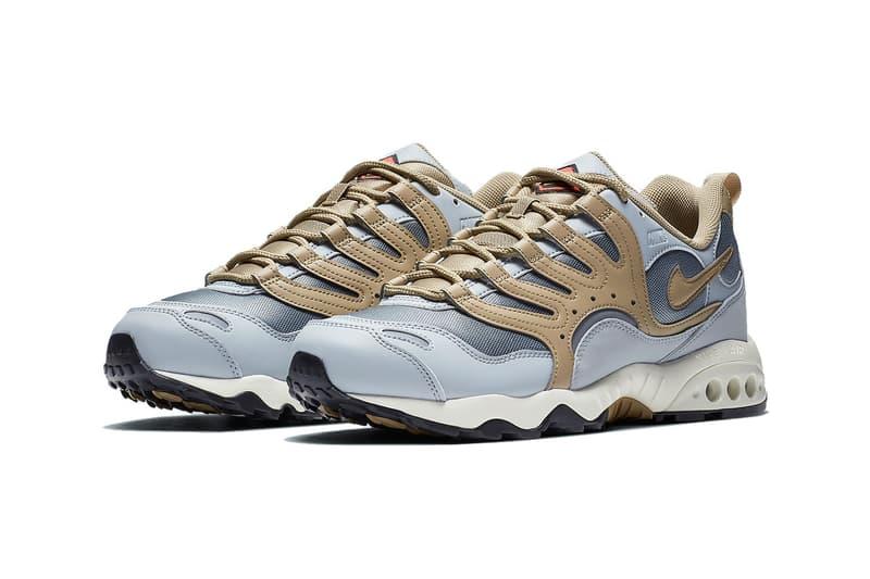 nike air terra humara 18 parachute wolf grey brown leather tech sneakers