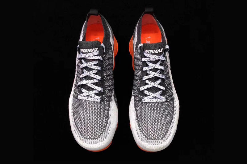 Nike Air VaporMax 2 Mango fall 2018 release black white grey orange sneakers