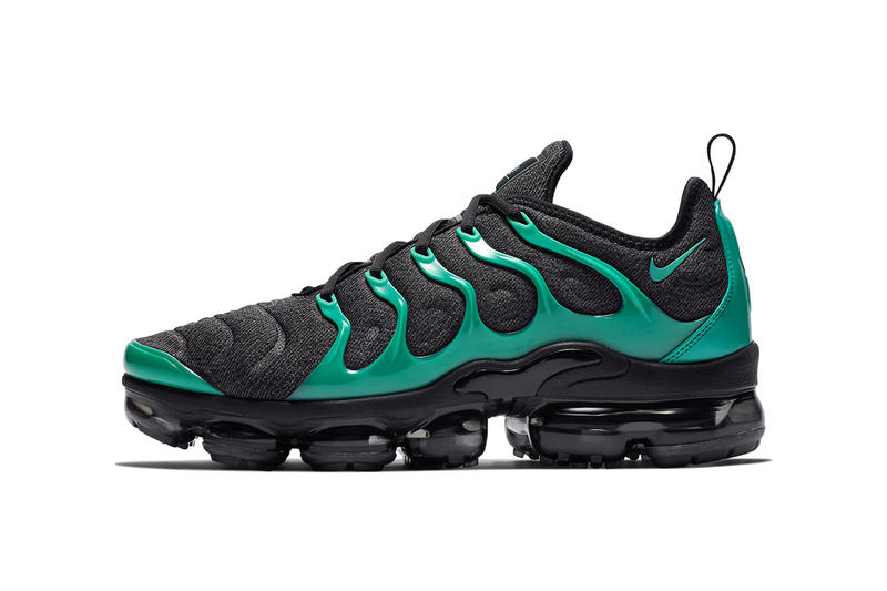 nike air vapormax plus black green 2018 nike sportswear footwear