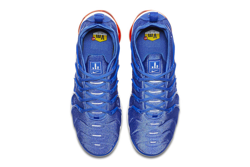 aaa6f1c6442 Nike Air VaporMax Plus Game Royal total orange sneakers 2018 release date  info colorway purchase price