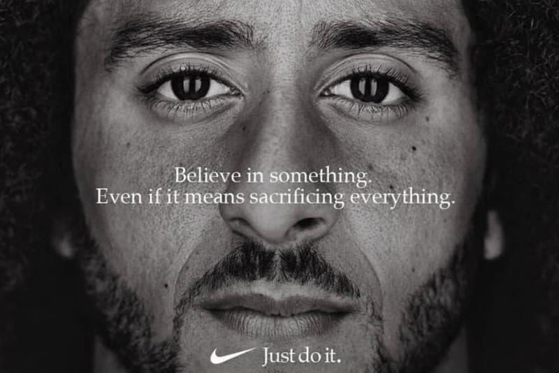 Nike Kaepernick Ad Totals 43 Million in Exposure commercials Colin Kaepernick sports athletes bloomberg news sneakers stocks stock market USD Dow Jones NASDAQ apparel