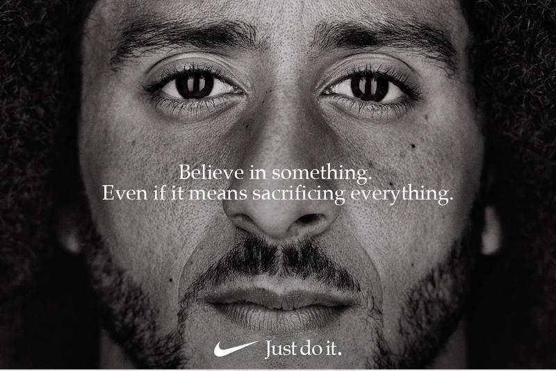 Nike Colin Kaepernick Advert Sold Out Items Cop Purchase Buy 61 Percent Merchandise