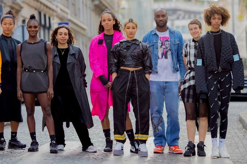 nike collaboration Andelman martine rose yoon ahn sneaker unlaced womenswear capsule collections sneaker release date info drop sportswear