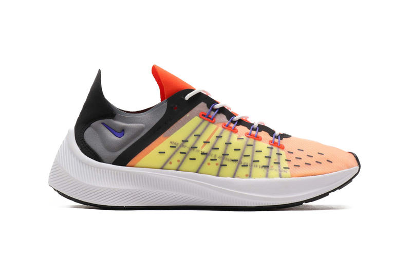 NIKE EXP-X14 Team Orange Persian Violet volt black AO1554-800 green purple grey yellow release date information purchase atmos sneakers shoes