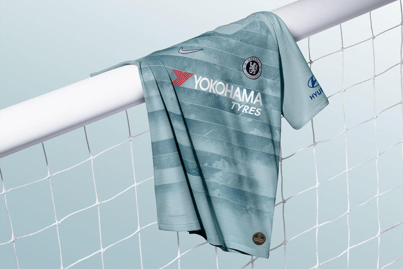 Nike Chelsea Third Kit 2018/19 Football Soccer NikeConnect Jorginho NBA Light Blue Teal European Away Games Stamford Bridge Release Details Web Store Buy
