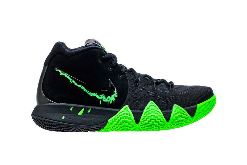 new styles bcc0f 62c5a Nike Kyrie 4 Halloween black green rage release info sneaker kyrie irving  basketball