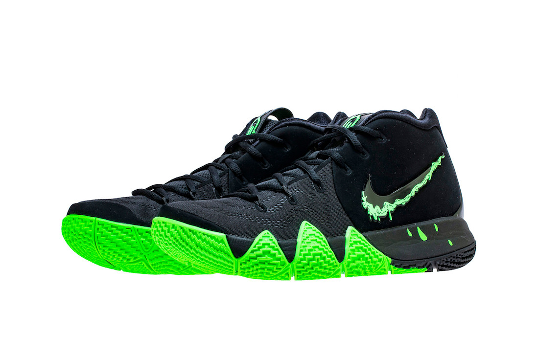 kyrie 4 pink and green