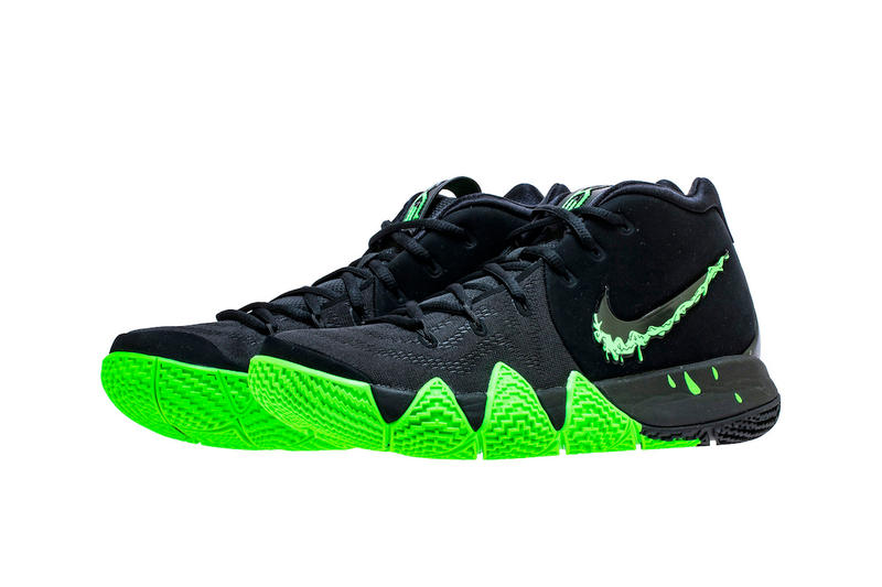 a36439cbba5 Nike Kyrie 4 Halloween black green rage release info sneaker kyrie irving  basketball. 3 of 5