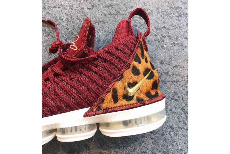 Nike LeBron 16 King First Look James NBA Season Opener Los Angeles Lakers Portland 2018 2019 season