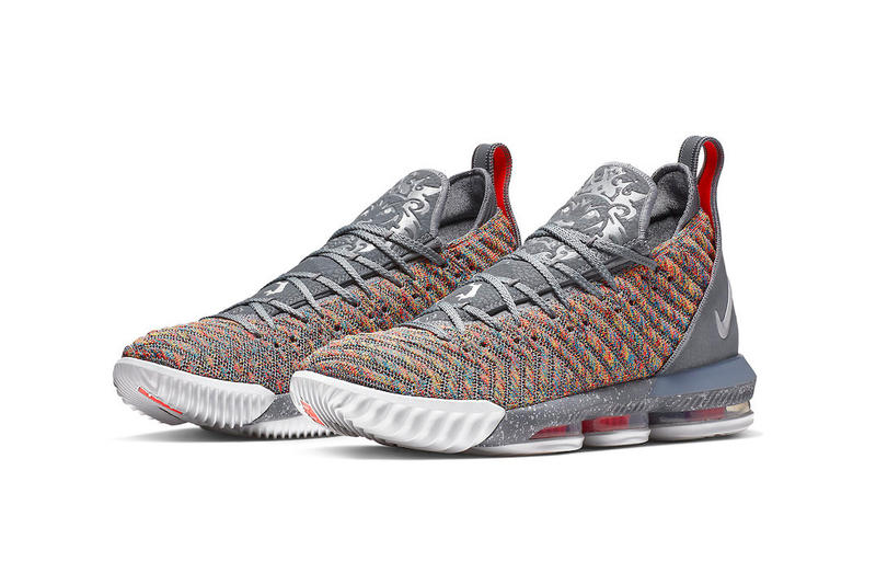 nike lebron 16 multicolor release date 2018 october lebron james nike basketball footwear