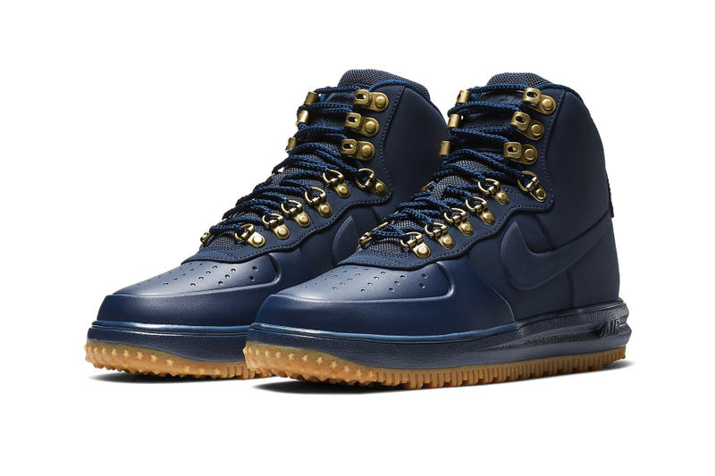 "Nike Lunar Force 1 '18 ""Triple Black"" ""Obsidian/Gum"" ""Sequoia/Gum"" new colorways fall 2018 sneakers boots release date info price OBSIDIAN/GUM MEDIUM BROWN/BLACK/OBSIDIAN BLACK/SAIL/GUM LIGHT BROWN/SEQUOIA BLACK/BLACK/BLACK"