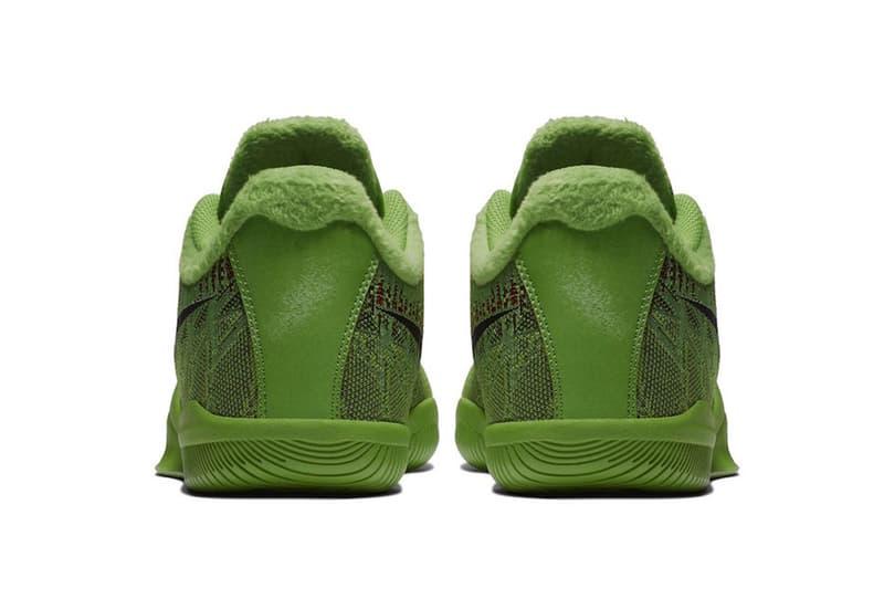 nike mamba rage grinch 2018 fall footwear nike basketball kobe bryant