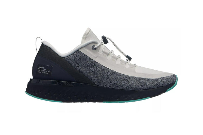 best service 02536 c313e Nike Odyssey React Shield Release Info Date Summit White Black Anthracite  Aurora Green Water Resistant First
