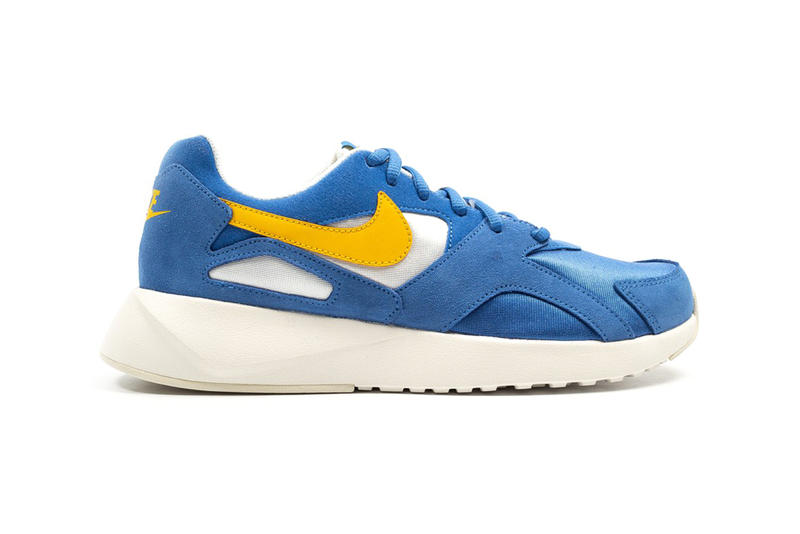 100% authentic 15a27 e5284 Nike Pantheos Blue Yellow Colorway Details Shoes Sneakers Trainers Kicks  Footwear Cop Purchase Buy Foot District