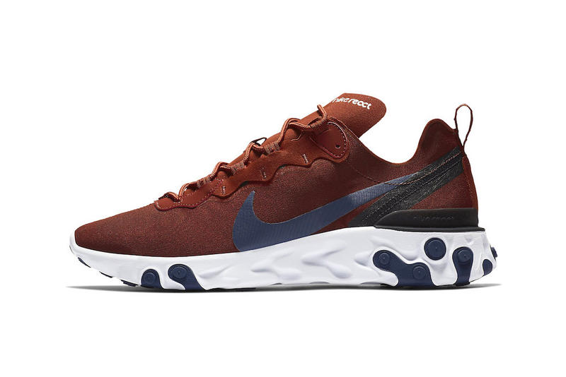 97975d34be4f0 Nike React Element 55 Crimson Navy Blue Colorway release date sneaker info  price purchase