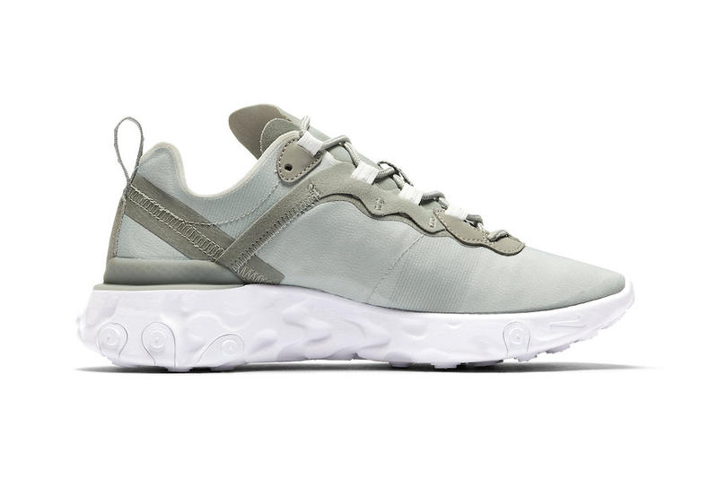 Nike React Element 55 Mica Green Release
