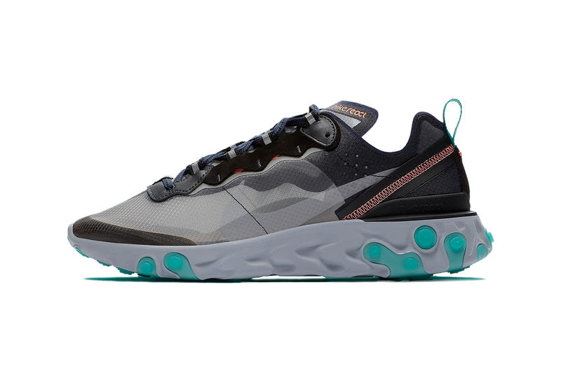 Nike react element 87 south beach colorway release date info details drop buy sell 160 AQ1090-005 miami fall 2018