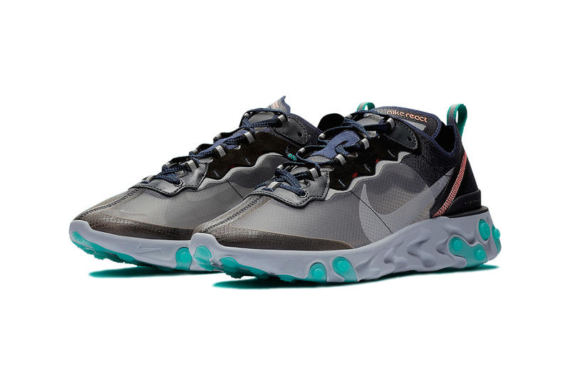 00a51e1d3a9b Nike react element 87 south beach colorway release date info details drop  buy sell 160 AQ1090