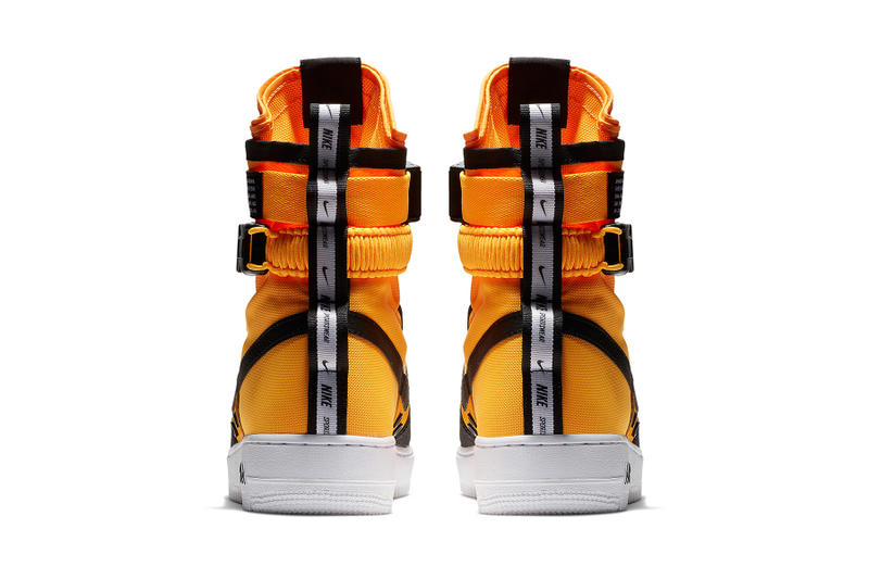 nike sf af1 high orange black white nike sportswear 2018 fall footwear