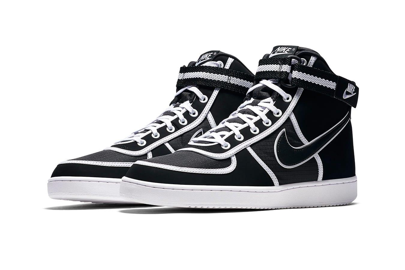Nike Vandal High Black/White   HYPEBEAST