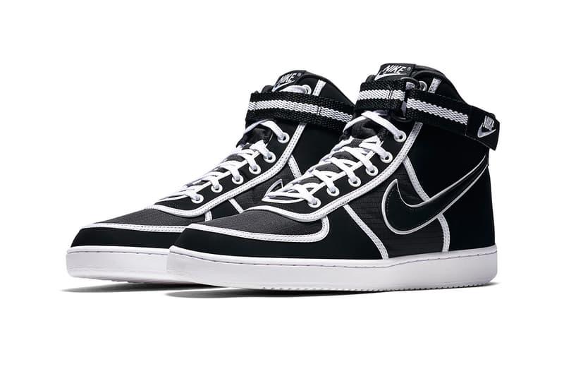 Nike Vandal High Black White fall 2018 release sneakers