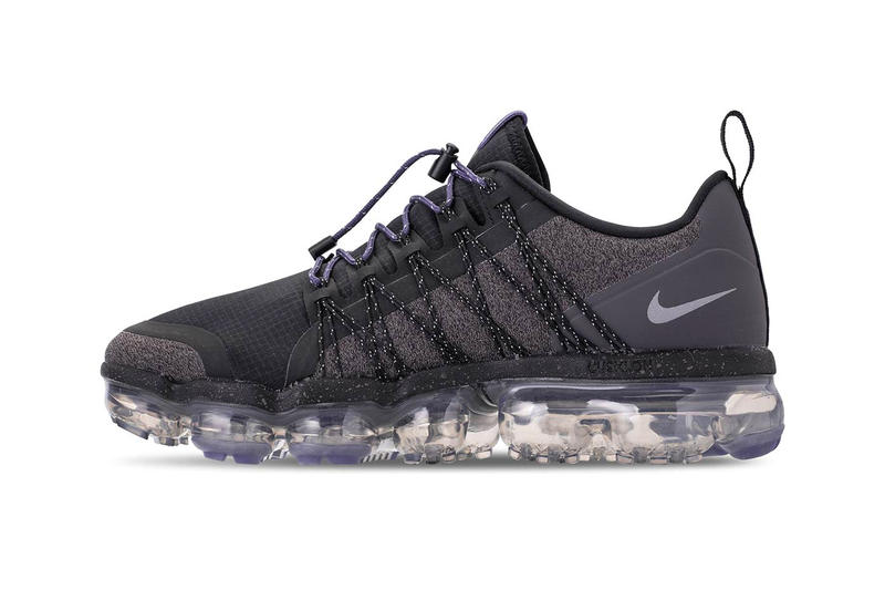 7e90a1e1d0 Nike VaporMax Run Utility Reflect Silver Release Black Thunder Grey Sanded  Purple Womens