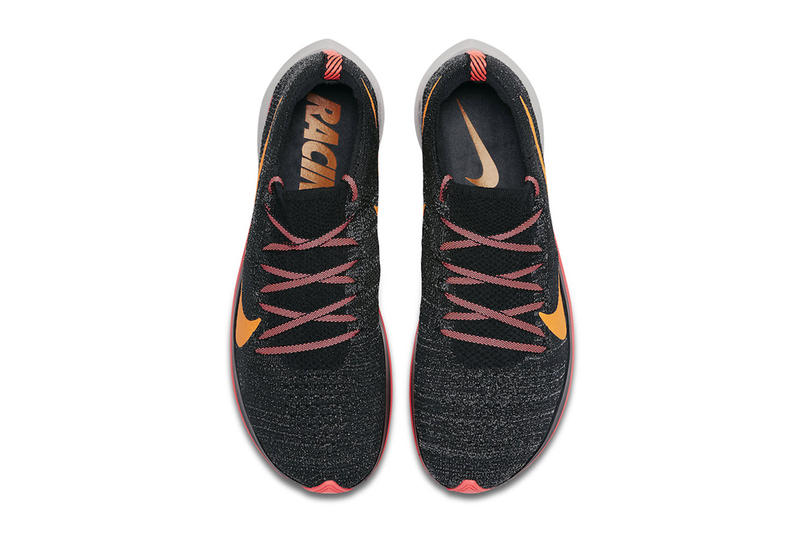 b6f3c11537be Nike Zoom Fly Flyknit Flash Crimson Orange Peel Moon Particle Black Info  Sneaker Release Date