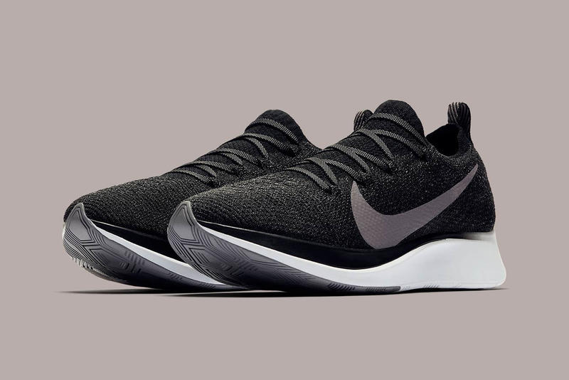 Nike Zoom Fly Flyknit Black Gunsmoke White Release Date Info Runner