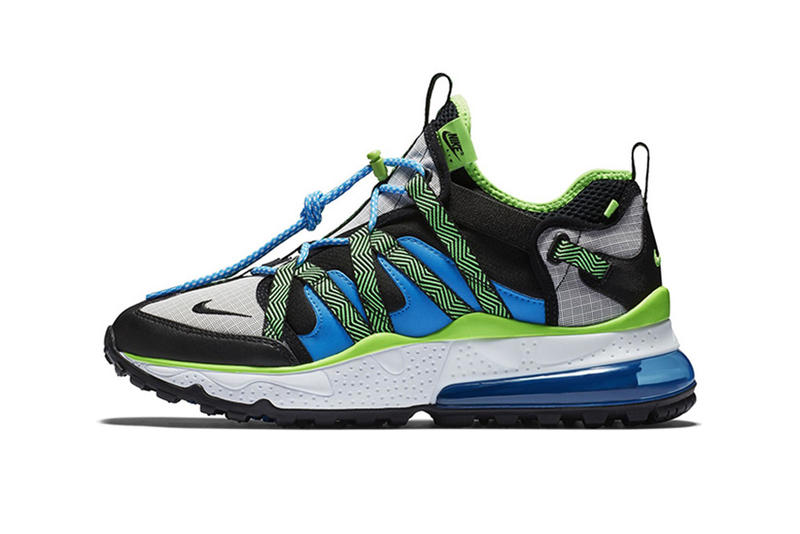 0e65dc5d723 Nike Air Max 270 Bowfin Release Date blue black mesh nylon leather october  2018