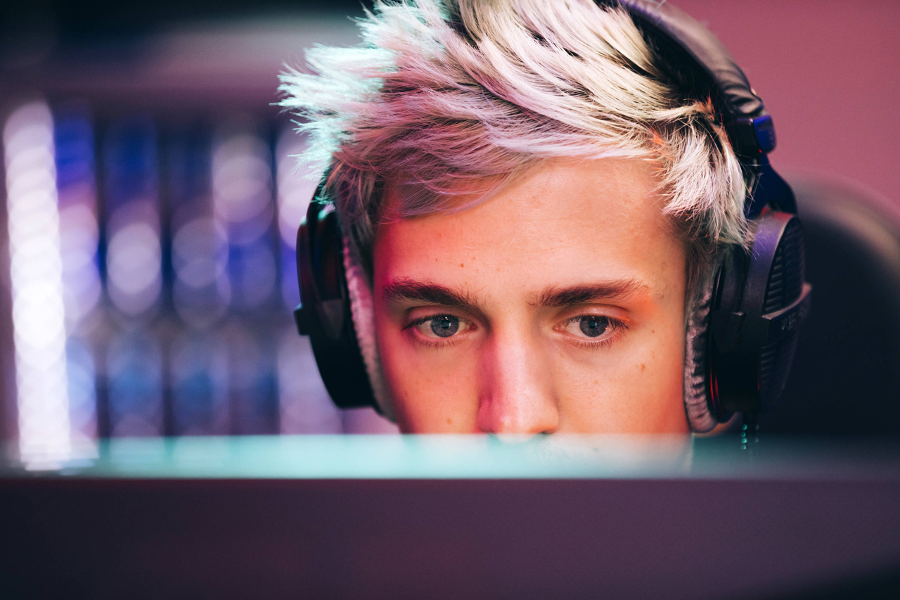 Ninja Fortnite PUBG PlayerUnknown Battlegrounds Epic Game Twitch Travis Scott Interview Lions Barry Sanders Lolla lollapalooza Halo Reach 3 Cod call of duty black ops 2