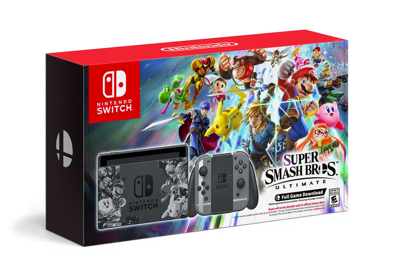 nintendo switch super smash bros ultimate bundle price order games